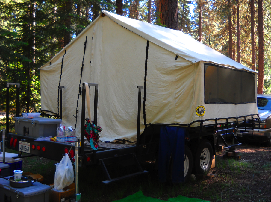 Model Custom Camping Trailer Micro Camper Travel Trailer 1